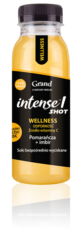 Pomarańcza imbir  Grand Intense! 250ml
